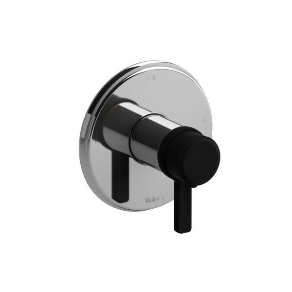 Riobel MMRD23JCBK-EX - 2-way Type T/P coaxial complete valve