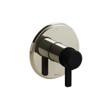 Riobel MMRD23JPNBK – 2-way Type T/P coaxial complete valve