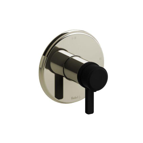 Riobel MMRD23JPNBK - 2-way Type T/P coaxial complete valve