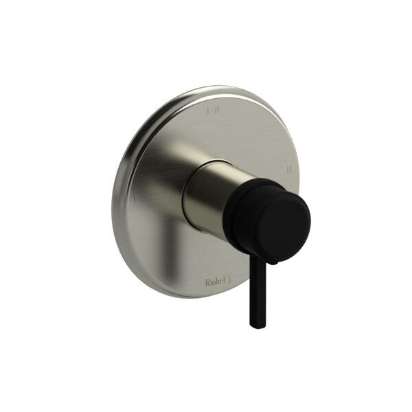 Riobel MMRD23LBNBK-EX - 2-way Type T/P coaxial complete valve