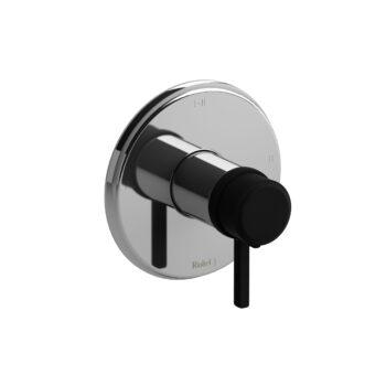 Riobel MMRD23LCBK – 2-way Type T/P coaxial complete valve