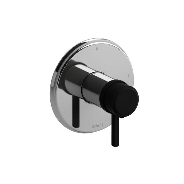 Riobel MMRD23LCBK-EX - 2-way Type T/P coaxial complete valve
