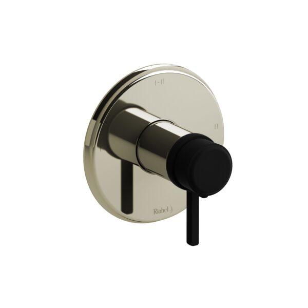 Riobel MMRD23LPNBK - 2-way Type T/P coaxial complete valve