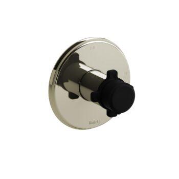 Riobel MMRD23XPNBK-EX – 2-way Type T/P coaxial complete valve