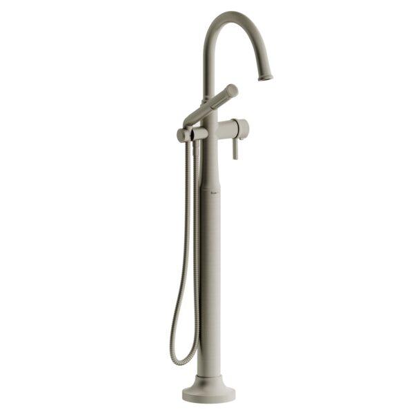 Riobel MMRD39JBN - 2-way Type T  floor-mount tub filler with hand shower