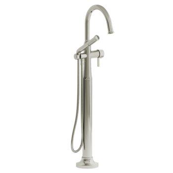 Riobel MMRD39JPN – 2-way Type T  floor-mount tub filler with hand shower