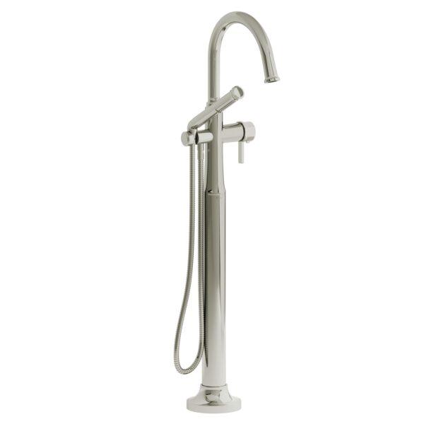 Riobel MMRD39JPN - 2-way Type T  floor-mount tub filler with hand shower