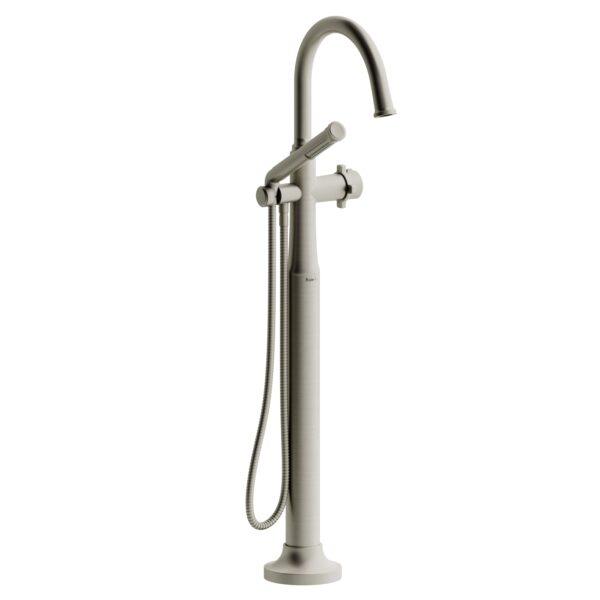 Riobel MMRD39XBN - 2-way Type T  floor-mount tub filler with hand shower