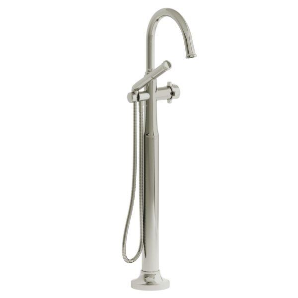 Riobel MMRD39XPN - 2-way Type T  floor-mount tub filler with hand shower