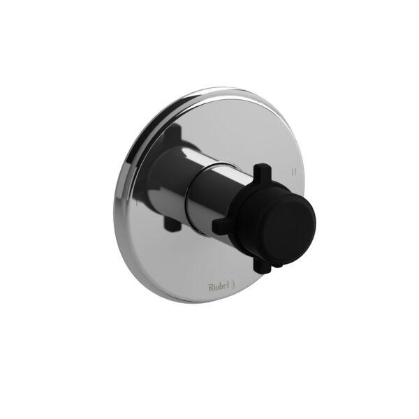 Riobel MMRD44+CBK - 2-way no share Type T/P complete valve