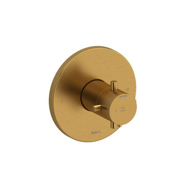 Riobel MMRD44LBK - 2-way no share Type T/P complete valve