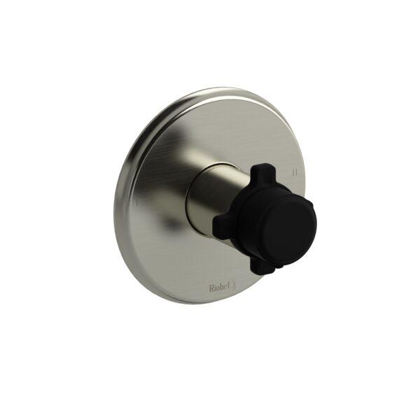 Riobel MMRD44XBNBK - 2-way no share Type T/P complete valve