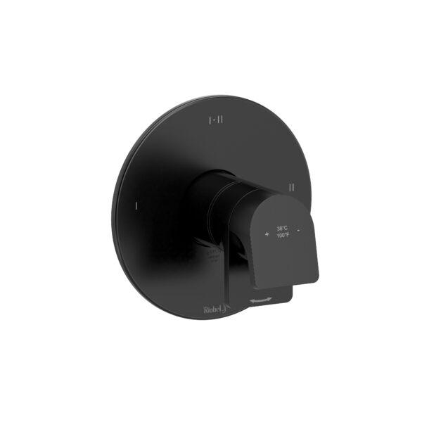 Riobel OD23BK - 2-way Type T/P coaxial complete valve