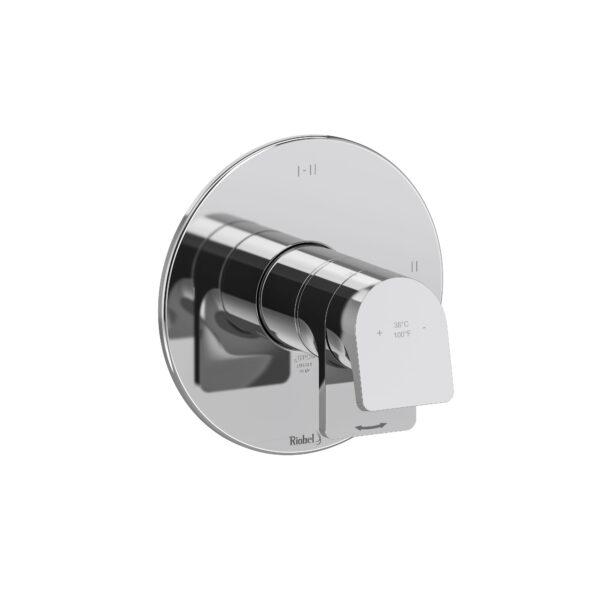 Riobel OD23C - 2-way Type T/P coaxial complete valve