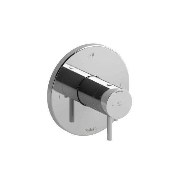 Riobel PATM23C - 2-way Type T/P coaxial complete valve