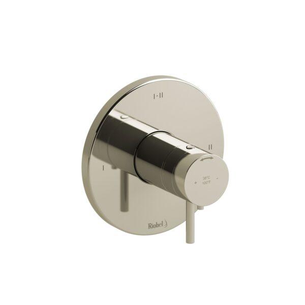 Riobel PATM23PN - 2-way Type T/P coaxial complete valve