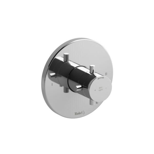 Riobel PATM44+C - 2-way no share Type T/P complete valve
