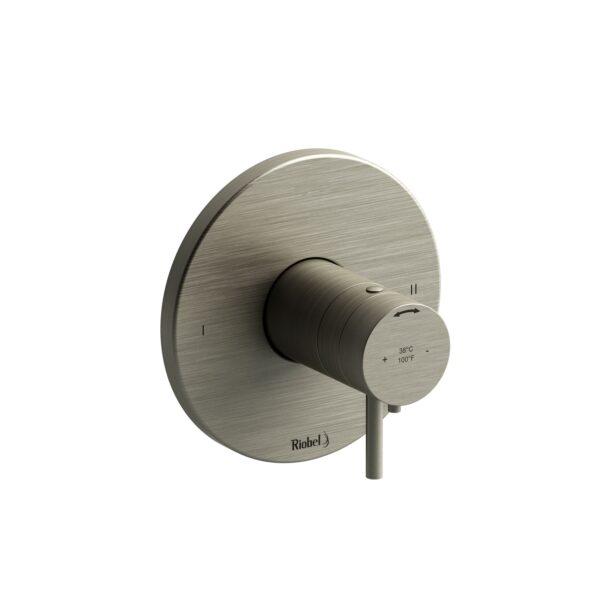 Riobel PATM44BN - 2-way no share Type T/P complete valve