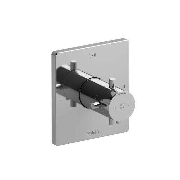 Riobel PATQ23+C - 2-way Type T/P coaxial complete valve