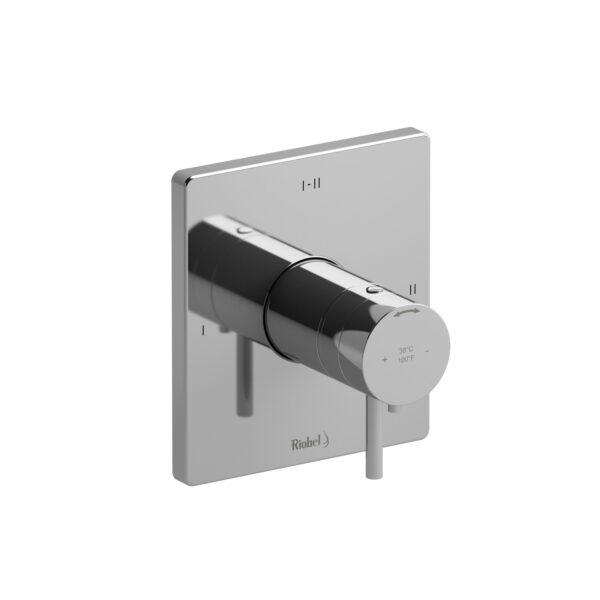 Riobel PATQ23C - 2-way Type T/P coaxial complete valve