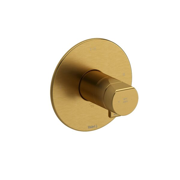 Riobel PB23BG - 2-way Type T/P coaxial complete valve