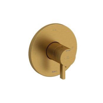 Riobel PXTM23BG-EX – 2-way Type T/P coaxial complete valve