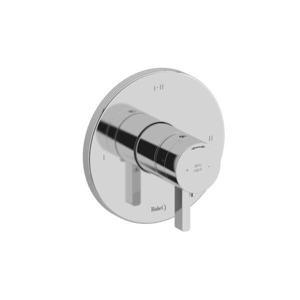Riobel PXTM23C - 2-way Type T/P coaxial complete valve