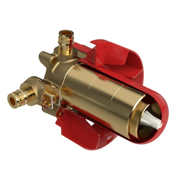 Riobel R23-EX - 2-way Type T/P coaxial valve rough