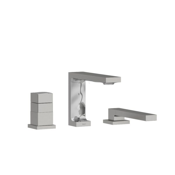 Riobel RF19BC - 2-way 3-piece Type T  deck-mount tub filler with hand shower