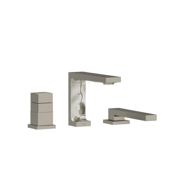 Riobel RF19BN - 2-way 3-piece Type T  deck-mount tub filler with hand shower
