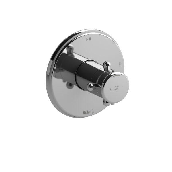 Riobel RT23+C - 2-way Type T/P coaxial complete valve