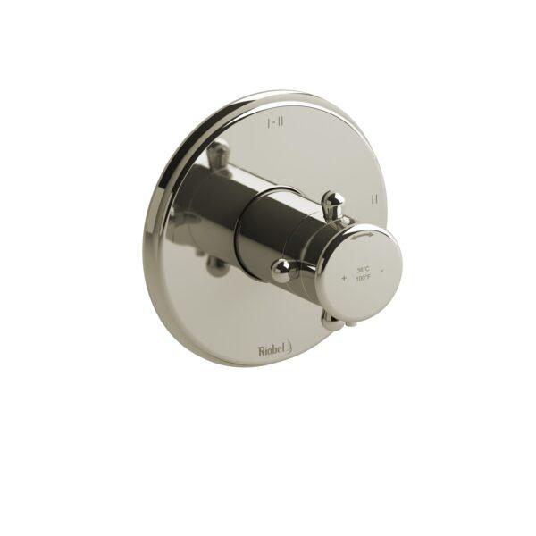 Riobel RT23+PN - 2-way Type T/P coaxial complete valve