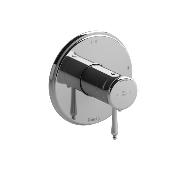 Riobel RT23C - 2-way Type T/P coaxial complete valve