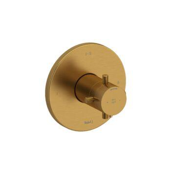 Riobel RUTM23+KNBG – 2-way Type T/P coaxial complete valve