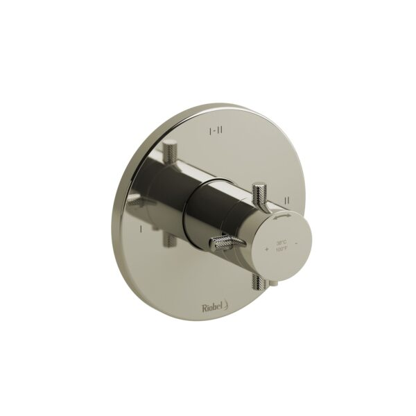 Riobel RUTM23+KNPN - 2-way Type T/P coaxial complete valve