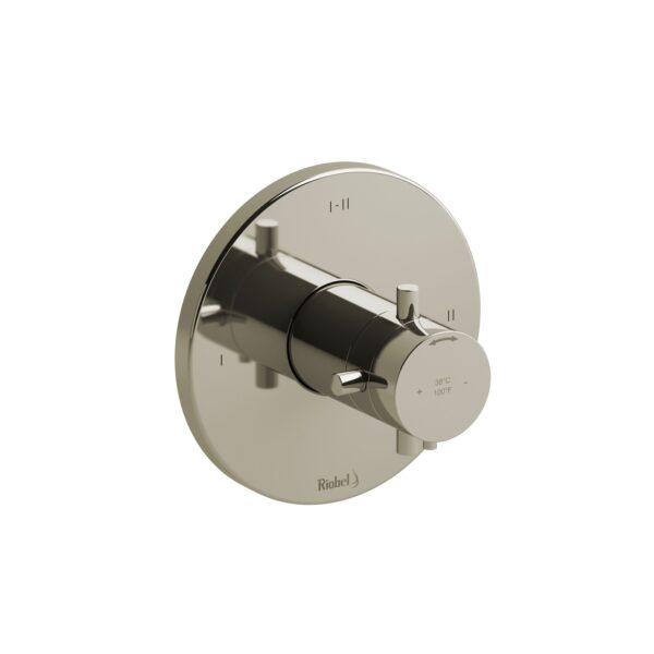 Riobel RUTM23+PN - 2-way Type T/P coaxial complete valve