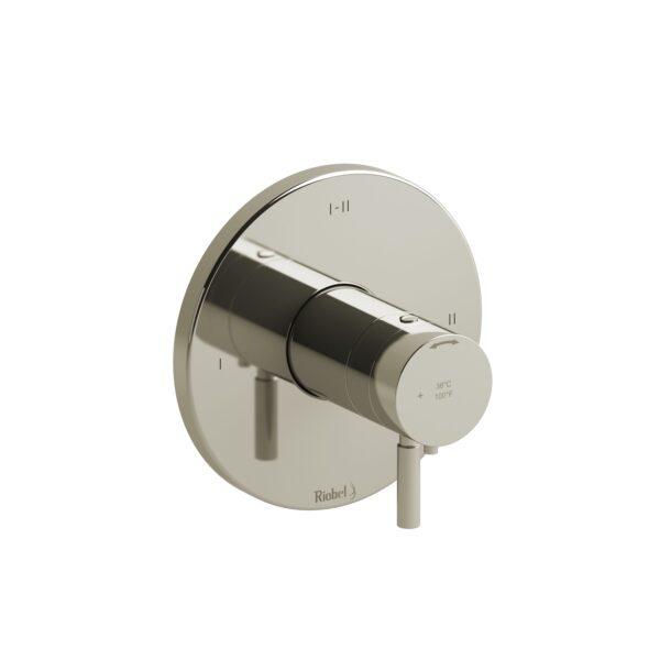 Riobel RUTM23PN - 2-way Type T/P coaxial complete valve