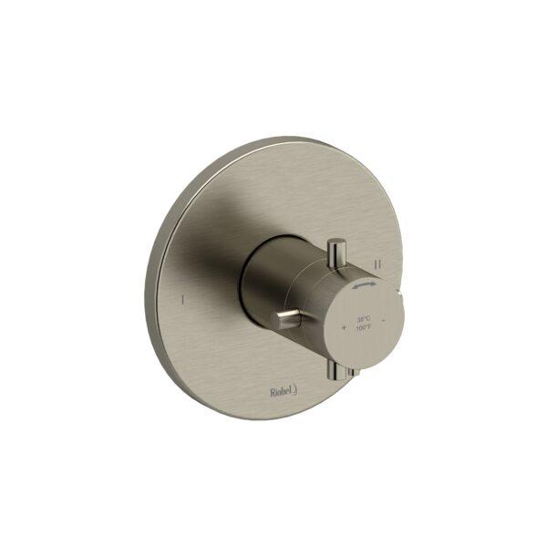 Riobel RUTM44+BN - 2-way no share Type T/P complete valve