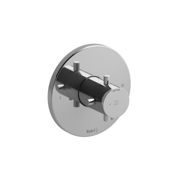 Riobel RUTM44+C - 2-way no share Type T/P complete valve