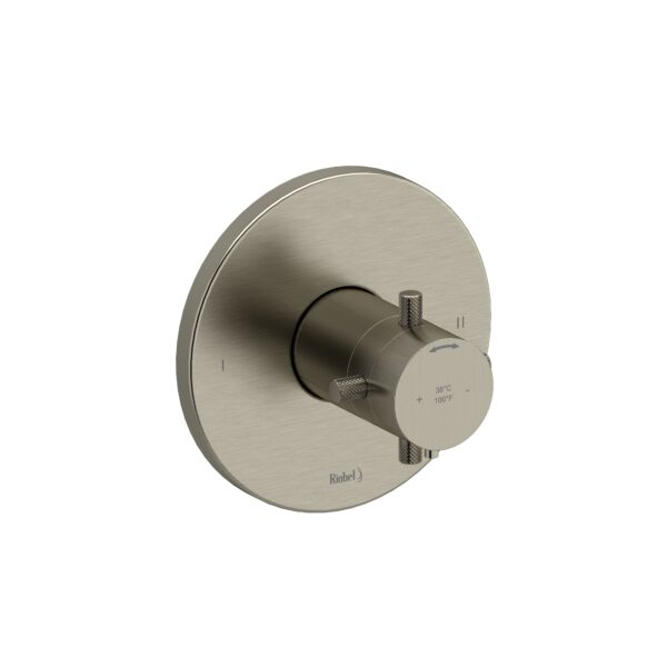 Riobel RUTM44+KNBN - 2-way no share Type T/P complete valve