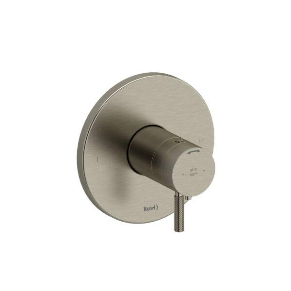 Riobel RUTM44KNBN - 2-way no share Type T/P complete valve