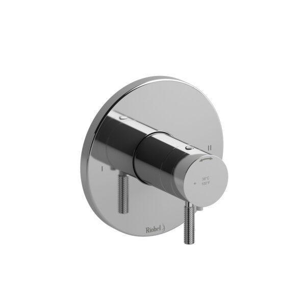Riobel RUTM44KNC - 2-way no share Type T/P complete valve