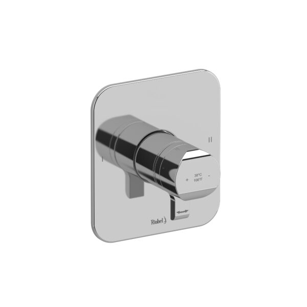 Riobel SA44C - 2-way no share Type T/P complete valve
