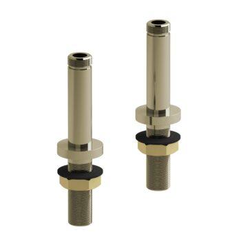 Riobel TU04PN – 10 cm (4″) deck-mount riser pair