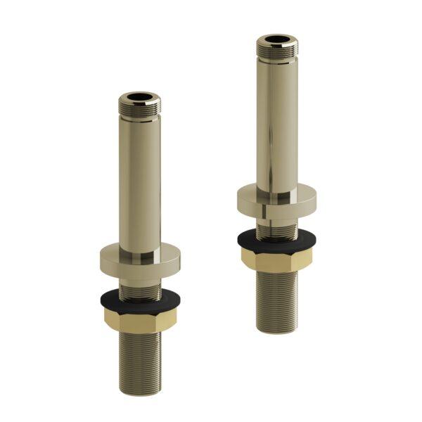 """Riobel TU04PN - 10 cm (4"""") deck-mount riser pair"""