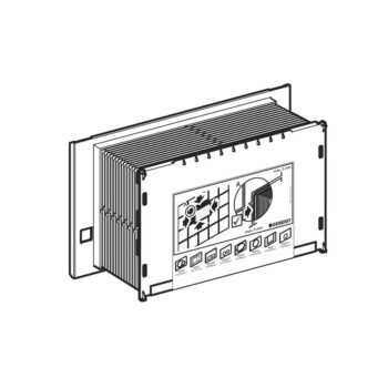 GEBERIT- Protection housing 9cm C/C Sigma-12